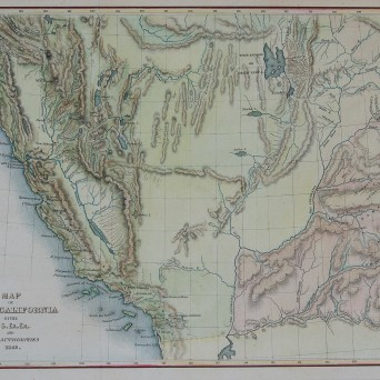 Map of Upper California