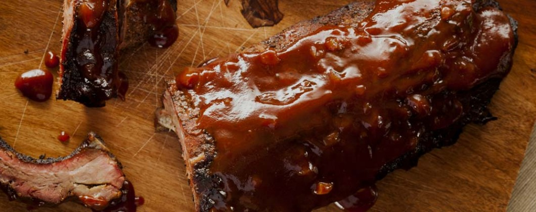 BBQ spareribs banner image